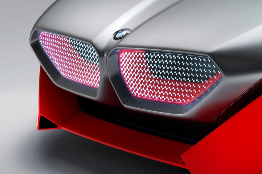 BMW Vision M Next previews M1 supercar's successor – a dedicated 600 hp, carbon-bodied plug-in hybrid Image #976644