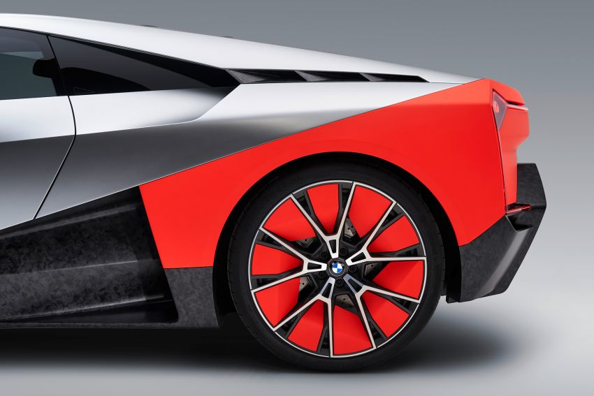BMW Vision M Next previews M1 supercar's successor – a dedicated 600 hp, carbon-bodied plug-in hybrid Image #976645