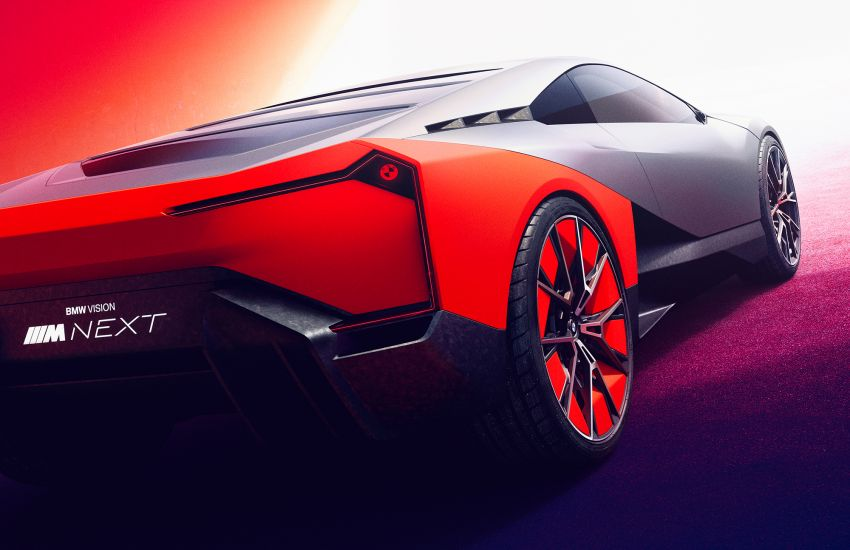 BMW Vision M Next previews M1 supercar's successor – a dedicated 600 hp, carbon-bodied plug-in hybrid Image #976646