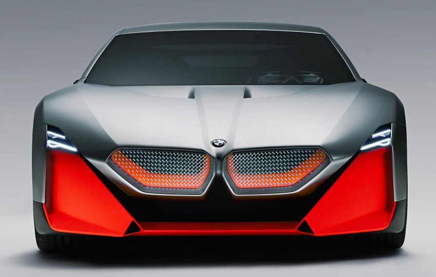 BMW Vision M Next previews M1 supercar's successor – a dedicated 600 hp, carbon-bodied plug-in hybrid Image #976647