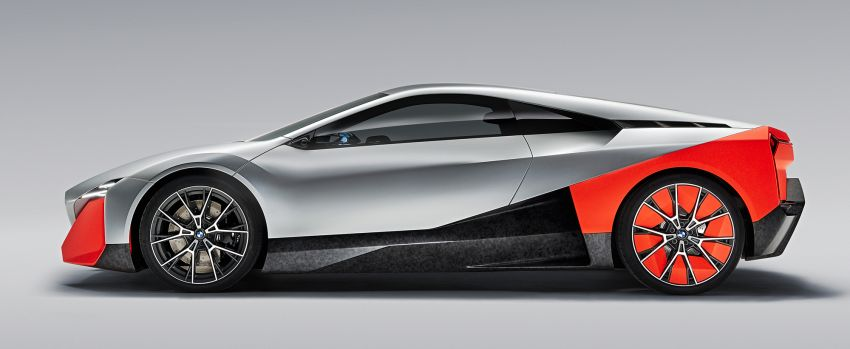 BMW Vision M Next previews M1 supercar's successor – a dedicated 600 hp, carbon-bodied plug-in hybrid Image #976648