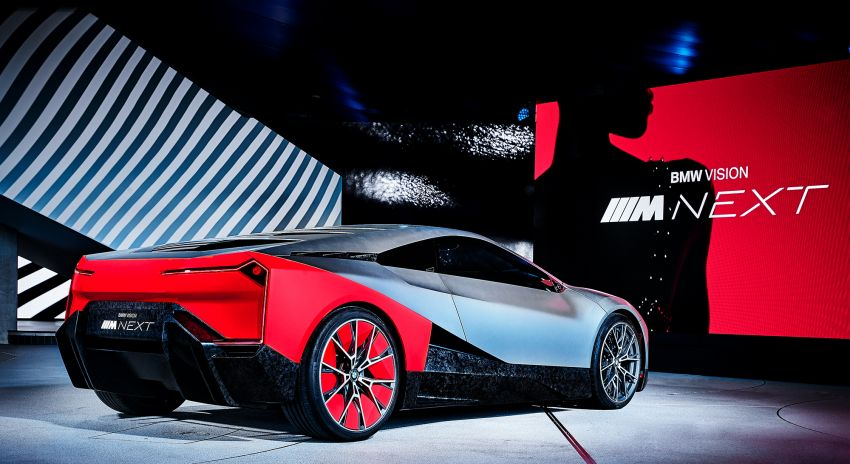 BMW Vision M Next previews M1 supercar's successor – a dedicated 600 hp, carbon-bodied plug-in hybrid Image #976649