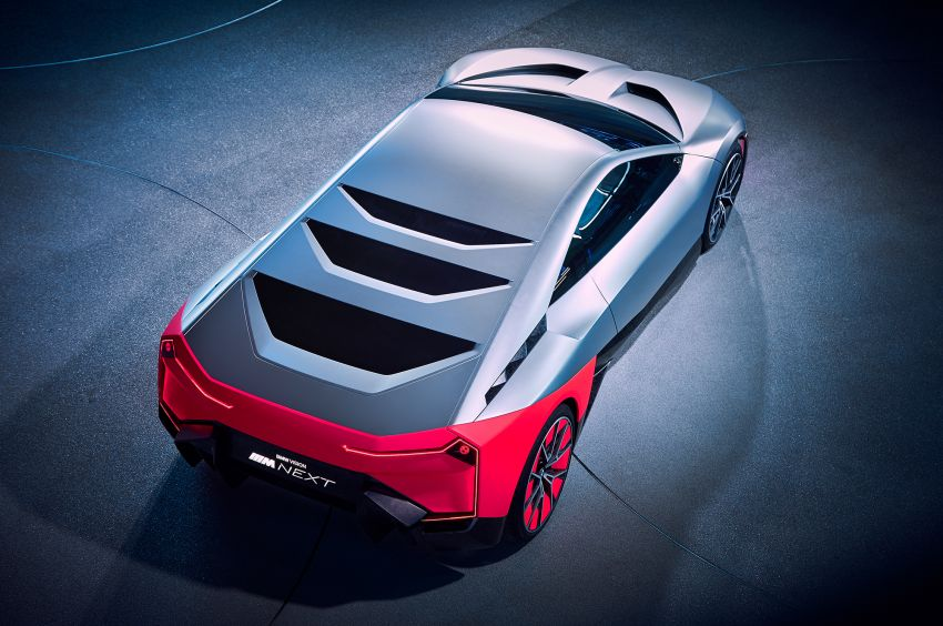 BMW Vision M Next previews M1 supercar's successor – a dedicated 600 hp, carbon-bodied plug-in hybrid Image #976651