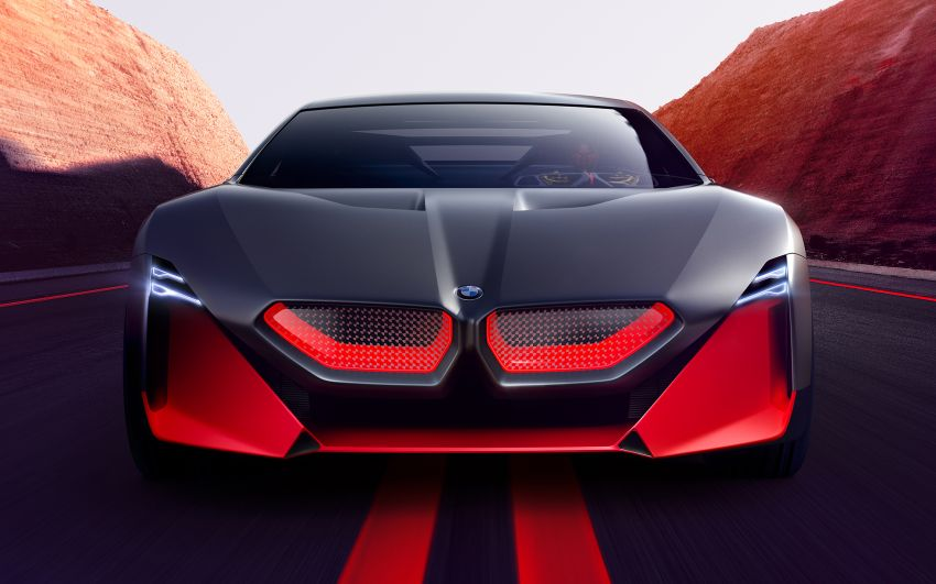 BMW Vision M Next previews M1 supercar's successor – a dedicated 600 hp, carbon-bodied plug-in hybrid Image #976634