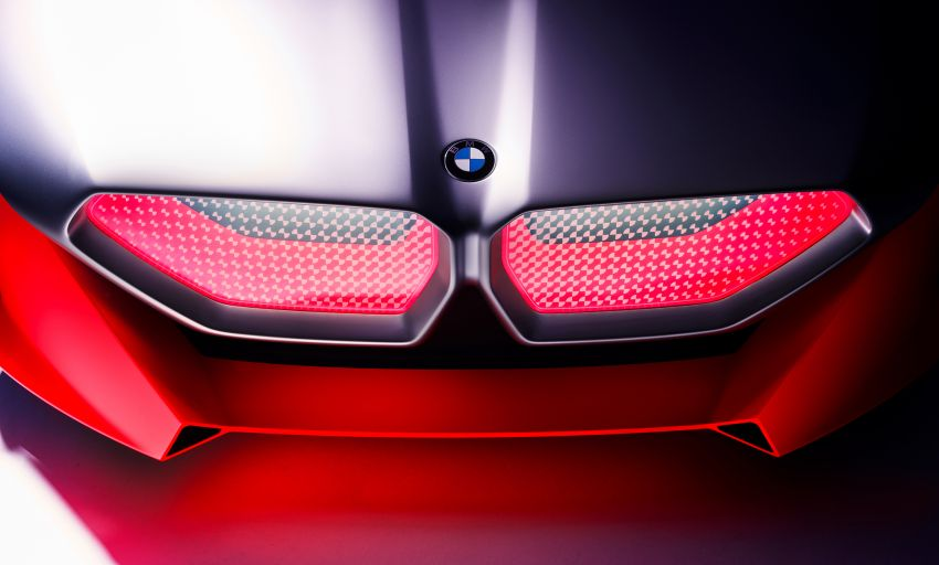 BMW Vision M Next previews M1 supercar's successor – a dedicated 600 hp, carbon-bodied plug-in hybrid Image #976652