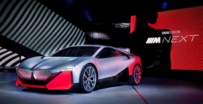 BMW Vision M Next previews M1 supercar's successor – a dedicated 600 hp, carbon-bodied plug-in hybrid Image #976653