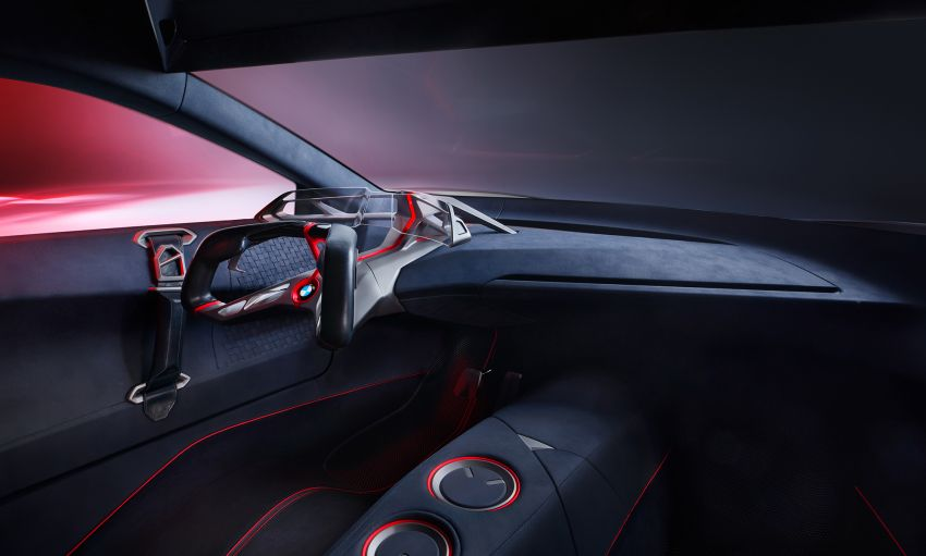 BMW Vision M Next previews M1 supercar's successor – a dedicated 600 hp, carbon-bodied plug-in hybrid Image #976654