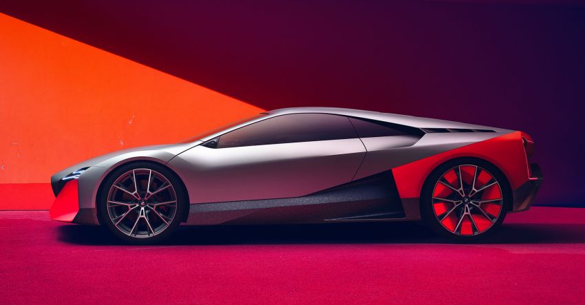 BMW Vision M Next previews M1 supercar's successor – a dedicated 600 hp, carbon-bodied plug-in hybrid Image #976655