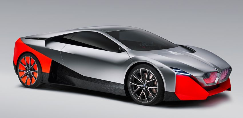 BMW Vision M Next previews M1 supercar's successor – a dedicated 600 hp, carbon-bodied plug-in hybrid Image #976656