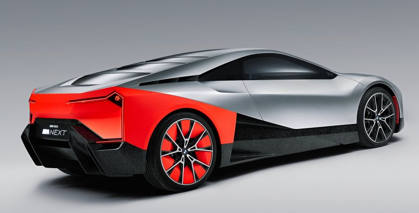 BMW Vision M Next previews M1 supercar's successor – a dedicated 600 hp, carbon-bodied plug-in hybrid Image #976658