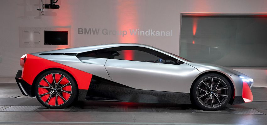 BMW Vision M Next previews M1 supercar's successor – a dedicated 600 hp, carbon-bodied plug-in hybrid Image #976661