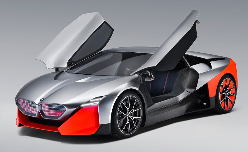 BMW Vision M Next previews M1 supercar's successor – a dedicated 600 hp, carbon-bodied plug-in hybrid Image #976664