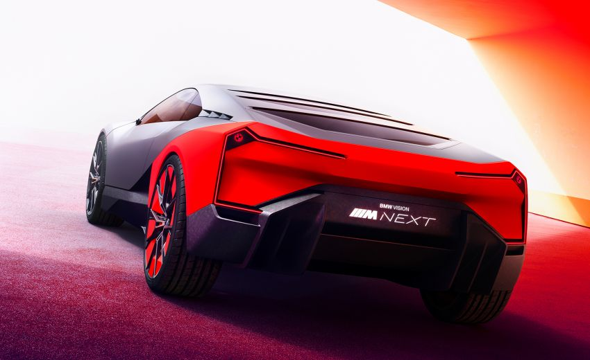 BMW Vision M Next previews M1 supercar's successor – a dedicated 600 hp, carbon-bodied plug-in hybrid Image #976666