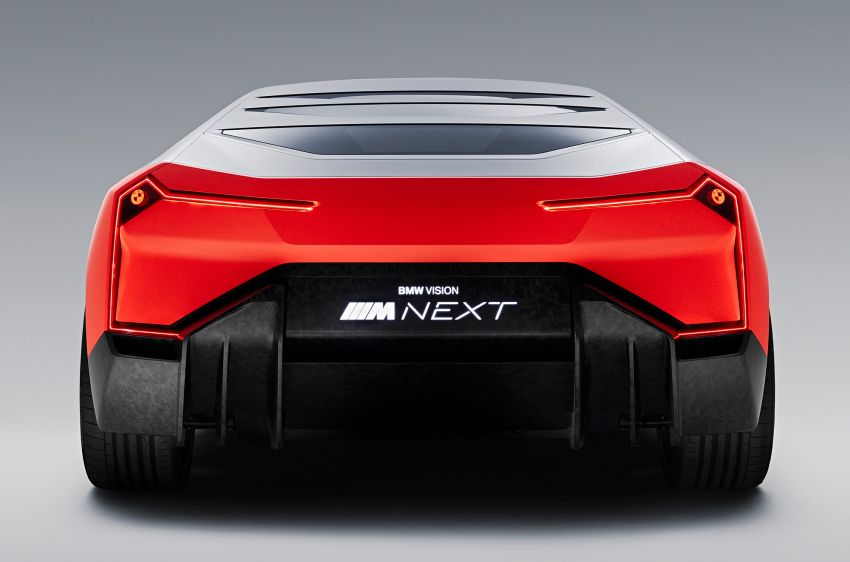 BMW Vision M Next previews M1 supercar's successor – a dedicated 600 hp, carbon-bodied plug-in hybrid Image #976668