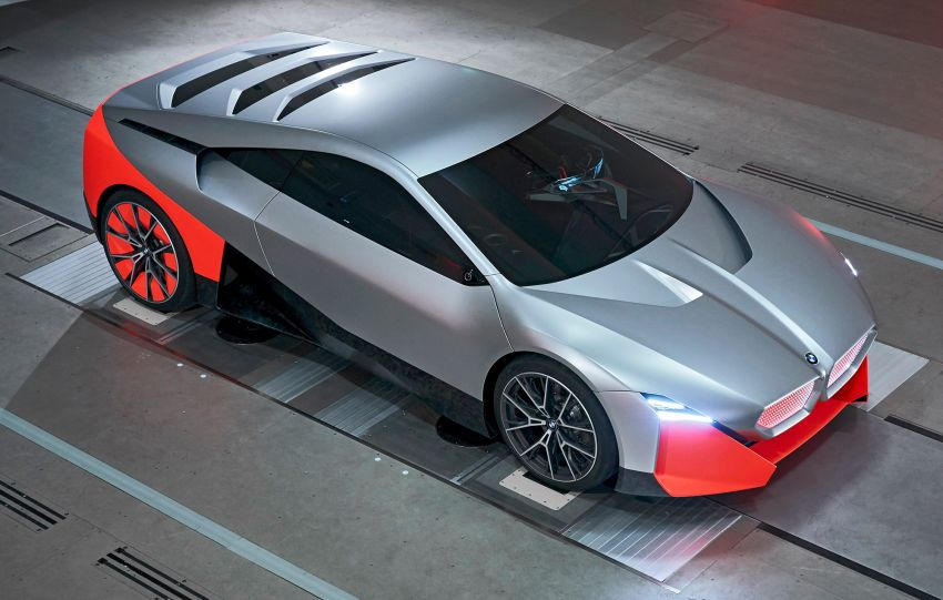 BMW Vision M Next previews M1 supercar's successor – a dedicated 600 hp, carbon-bodied plug-in hybrid Image #976669