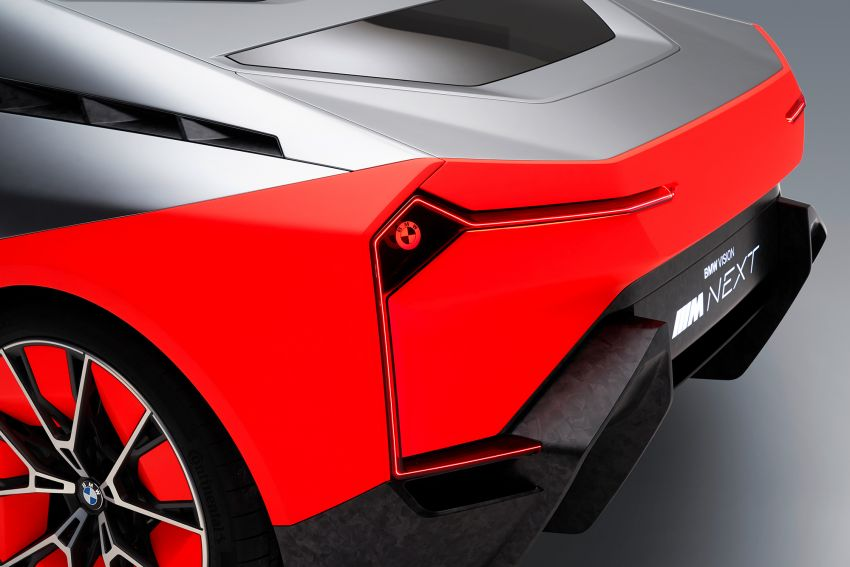 BMW Vision M Next previews M1 supercar's successor – a dedicated 600 hp, carbon-bodied plug-in hybrid Image #976638