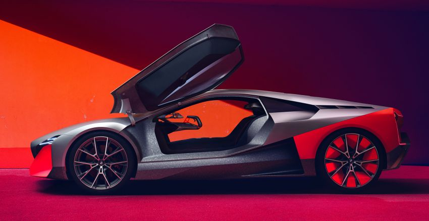 BMW Vision M Next previews M1 supercar's successor – a dedicated 600 hp, carbon-bodied plug-in hybrid Image #976639
