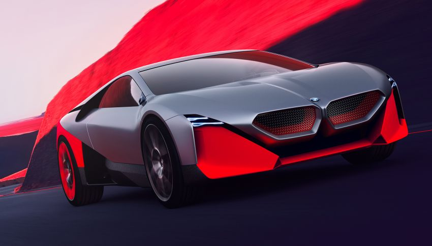 BMW Vision M Next previews M1 supercar's successor – a dedicated 600 hp, carbon-bodied plug-in hybrid Image #976640
