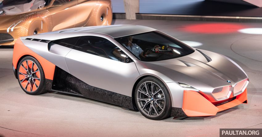 BMW Vision M Next previews M1 supercar's successor – a dedicated 600 hp, carbon-bodied plug-in hybrid Image #976721