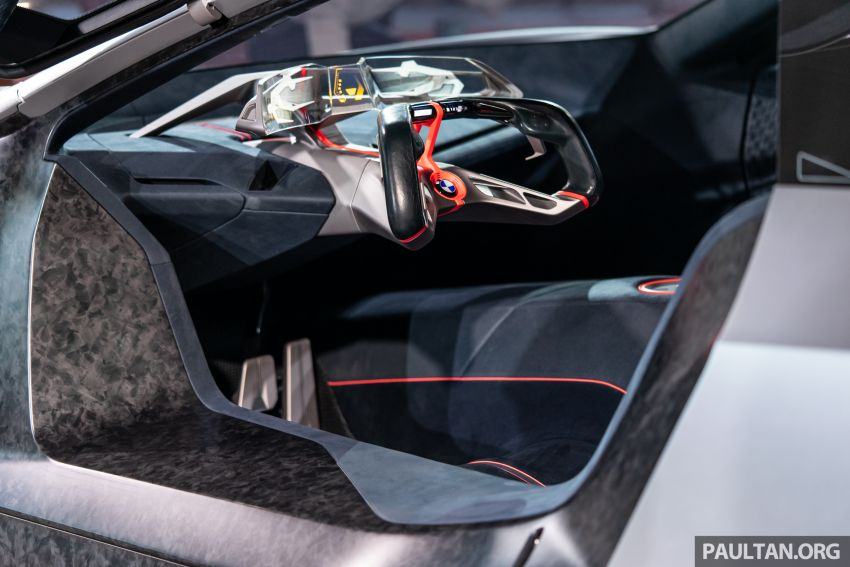 BMW Vision M Next previews M1 supercar's successor – a dedicated 600 hp, carbon-bodied plug-in hybrid Image #976730