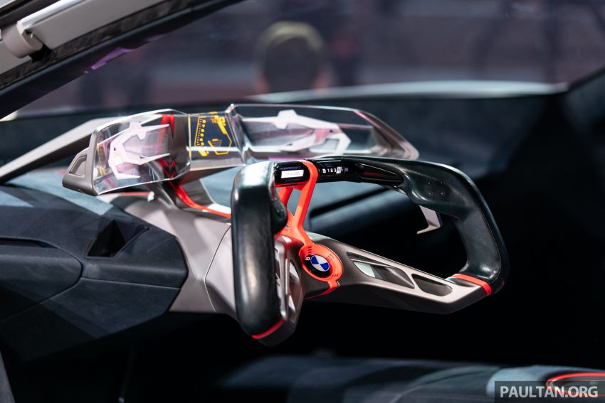 BMW Vision M Next previews M1 supercar's successor – a dedicated 600 hp, carbon-bodied plug-in hybrid Image #976731
