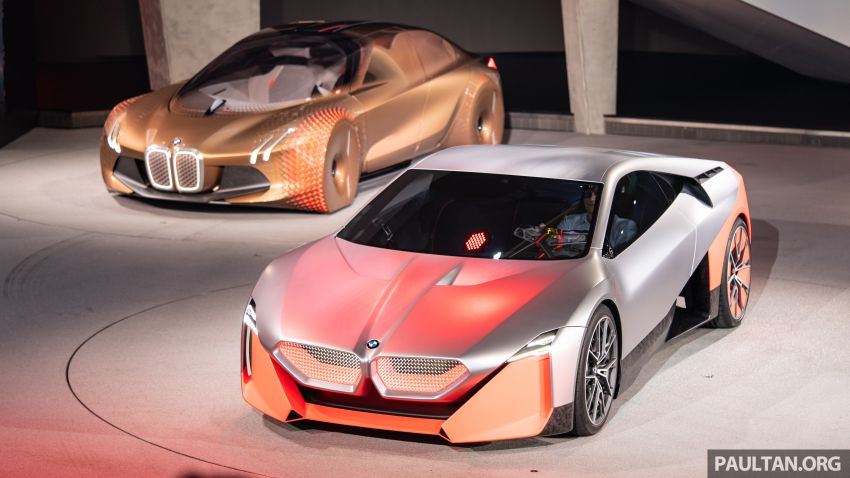 BMW Vision M Next previews M1 supercar's successor – a dedicated 600 hp, carbon-bodied plug-in hybrid Image #976722