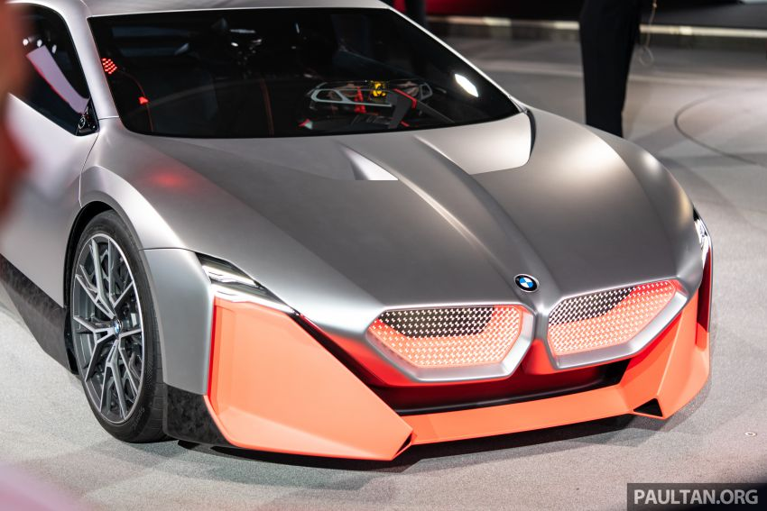 BMW Vision M Next previews M1 supercar's successor – a dedicated 600 hp, carbon-bodied plug-in hybrid Image #976741