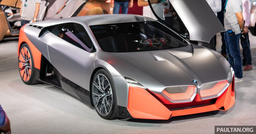 BMW Vision M Next previews M1 supercar's successor – a dedicated 600 hp, carbon-bodied plug-in hybrid Image #976723