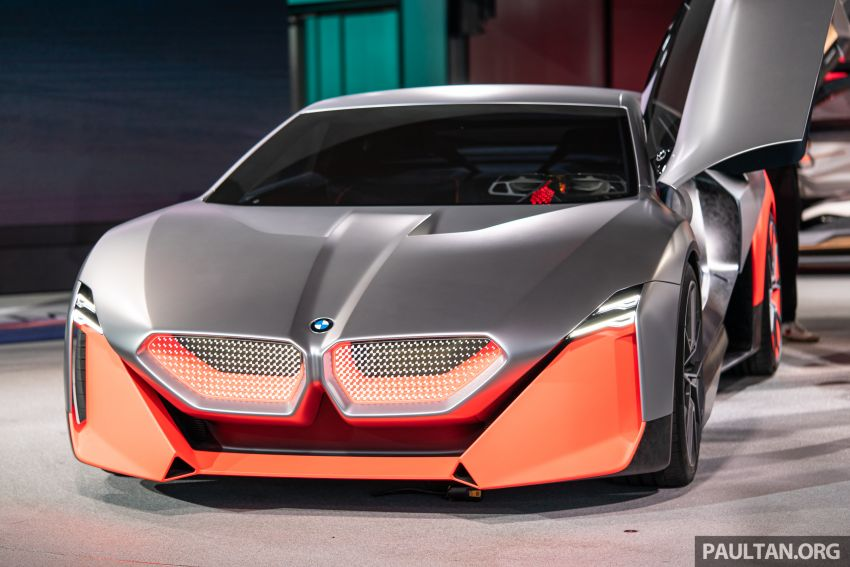 BMW Vision M Next previews M1 supercar's successor – a dedicated 600 hp, carbon-bodied plug-in hybrid Image #976724