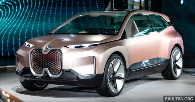 BMW iNEXT electric SUV to get 580 km driving range ...