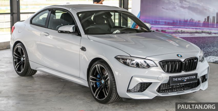 BMW M2 Competition debuts in Malaysia – fr RM627k Image #978476