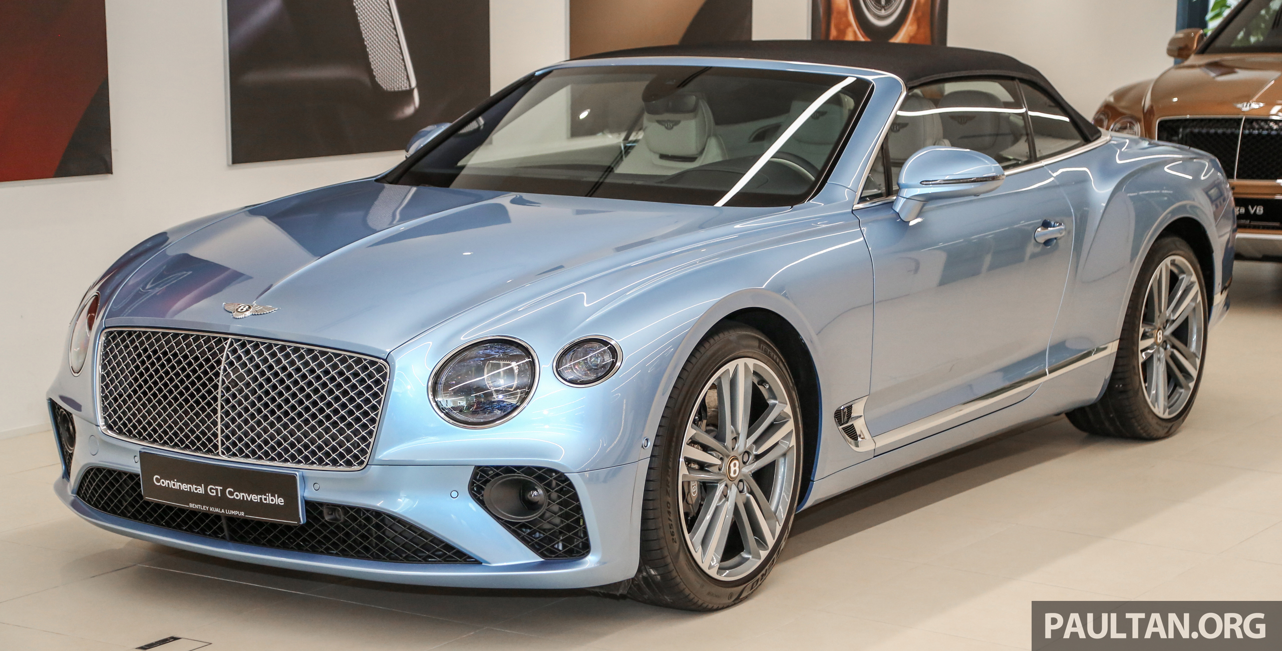 Bentley Continental Gt Convertible Previewed In Malaysia Drop Top Priced From Rm2 24 Million Paultan Org