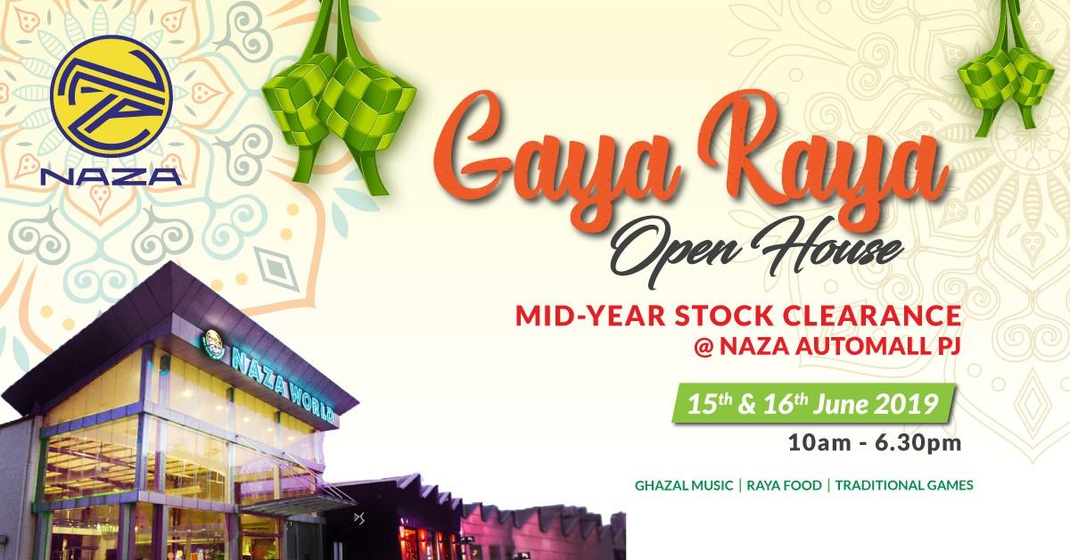 AD: Enjoy great deals at the Mid-Year Stock Clearance and Naza Gaya Raya Open House at Naza Automall PJ! Image #970861