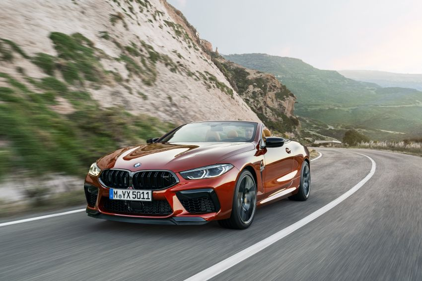 F92 BMW M8 Coupé, F91 Convertible debut – 625 hp! Image #969035