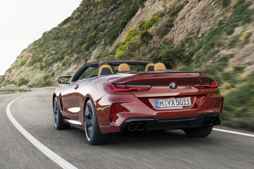 F92 BMW M8 Coupé, F91 Convertible debut – 625 hp! Image #969037