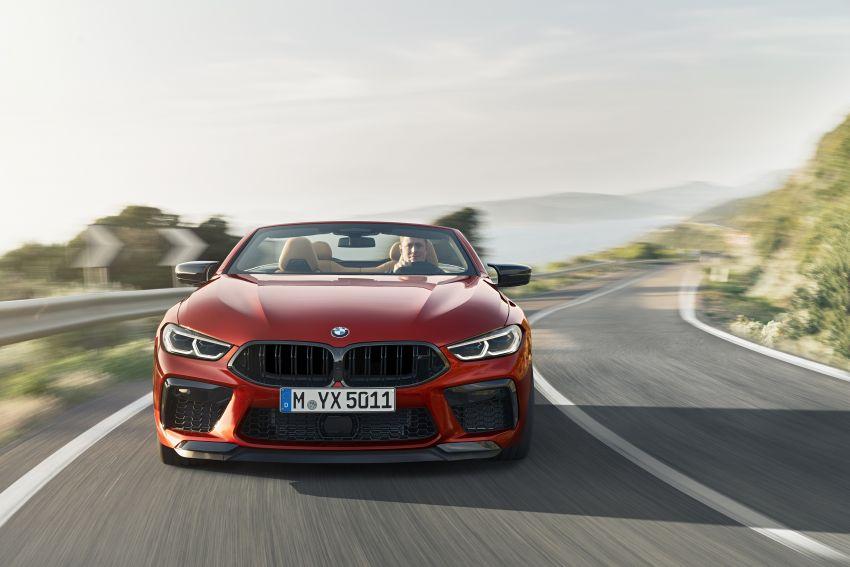 F92 BMW M8 Coupé, F91 Convertible debut – 625 hp! Image #969041