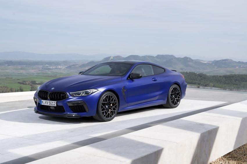 F92 BMW M8 Coupé, F91 Convertible debut – 625 hp! Image #969167