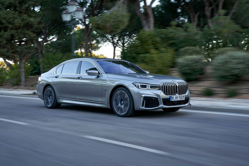 DRIVEN: G12 BMW 7 Series LCI sampled in Portugal – let's talk about that front end and some other things Image #978221