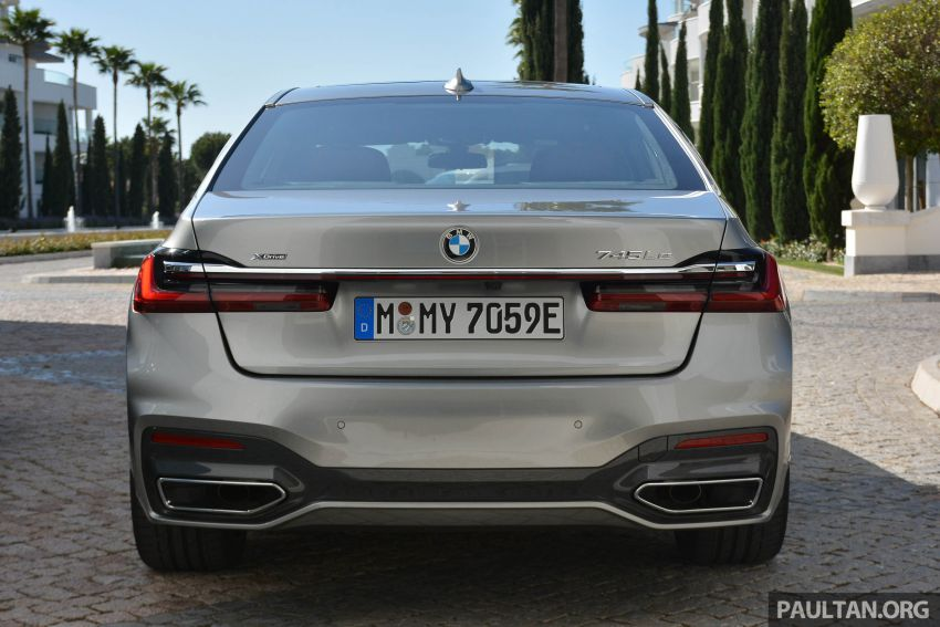 DRIVEN: G12 BMW 7 Series LCI sampled in Portugal – let's talk about that front end and some other things Image #978114
