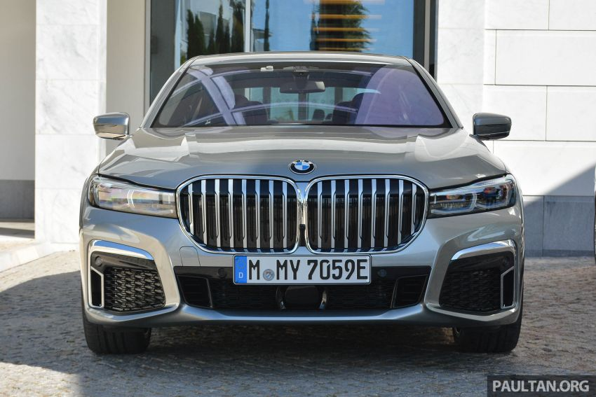 DRIVEN: G12 BMW 7 Series LCI sampled in Portugal – let's talk about that front end and some other things Image #978107