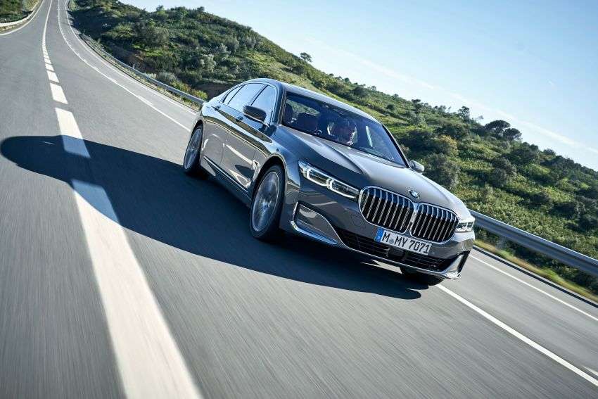 DRIVEN: G12 BMW 7 Series LCI sampled in Portugal – let's talk about that front end and some other things Image #978243