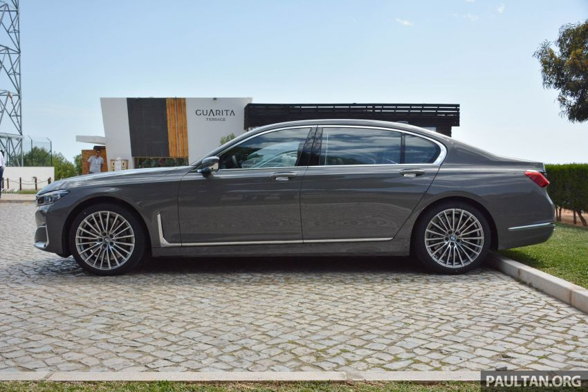 DRIVEN: G12 BMW 7 Series LCI sampled in Portugal – let's talk about that front end and some other things Image #978148