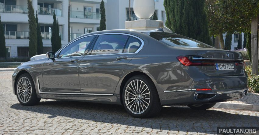 DRIVEN: G12 BMW 7 Series LCI sampled in Portugal – let's talk about that front end and some other things Image #978122