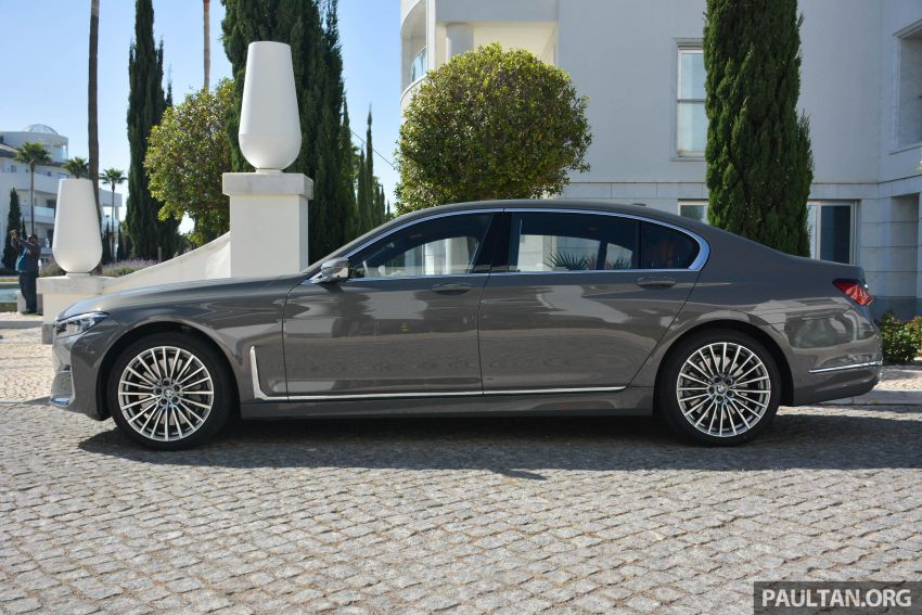 DRIVEN: G12 BMW 7 Series LCI sampled in Portugal – let's talk about that front end and some other things Image #978124
