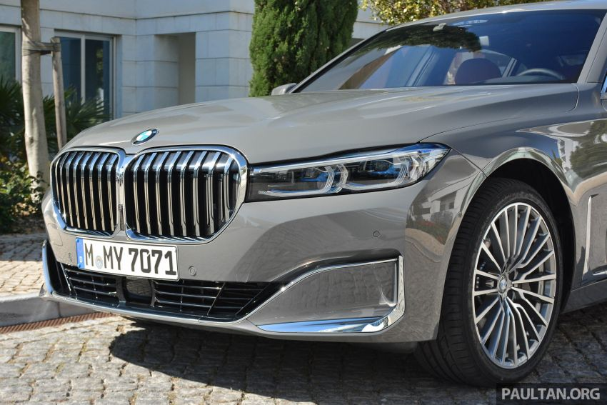 DRIVEN: G12 BMW 7 Series LCI sampled in Portugal – let's talk about that front end and some other things Image #978130