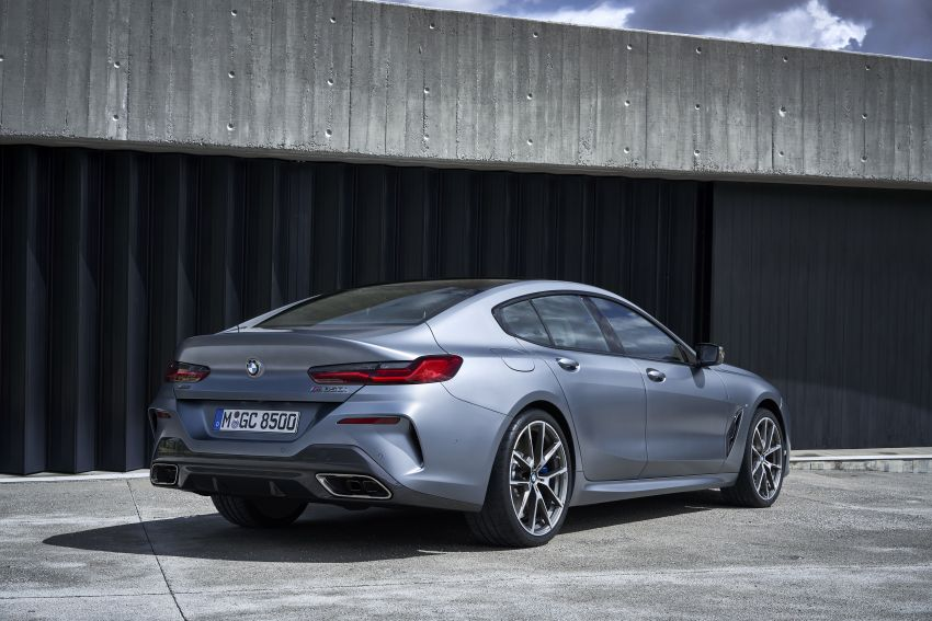 BMW I Series >> G16 BMW 8 Series Gran Coupé revealed – four doors, same swish, new 840i variant with 340 hp ...