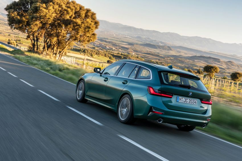 G21 BMW 3 Series Touring debuts – better practicality Image #970533
