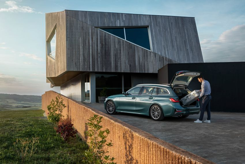 G21 BMW 3 Series Touring debuts – better practicality Image #970541