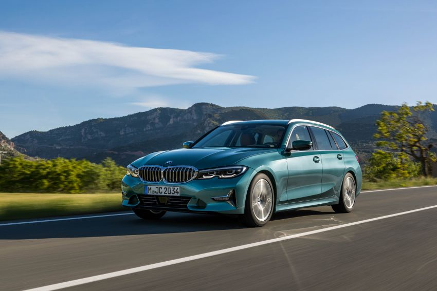 G21 BMW 3 Series Touring debuts – better practicality Image #970523