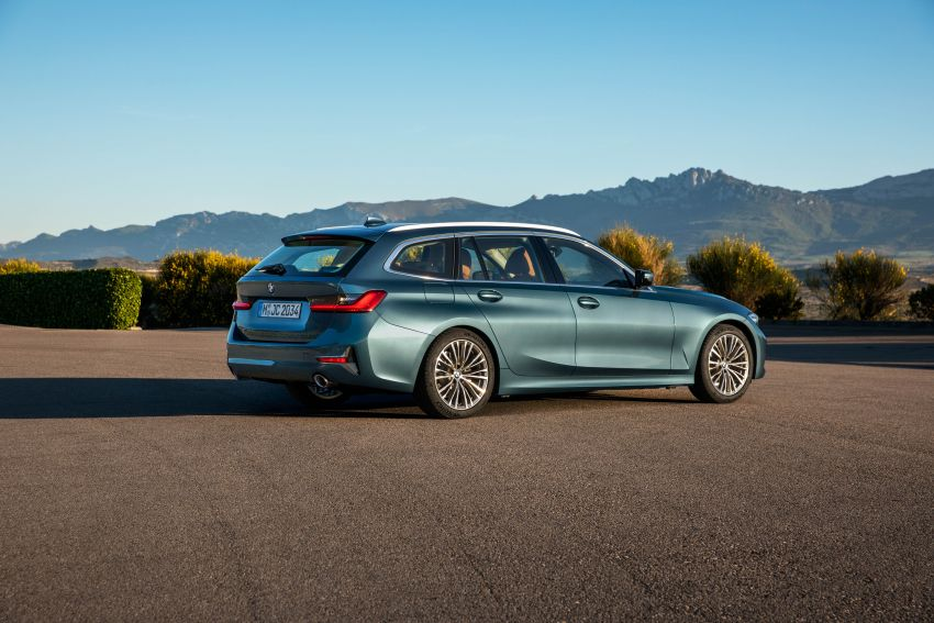 G21 BMW 3 Series Touring debuts – better practicality Image #970546
